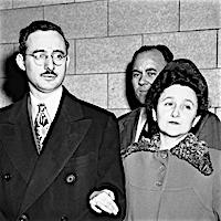 Julius Rosenberg and wife, Eithel