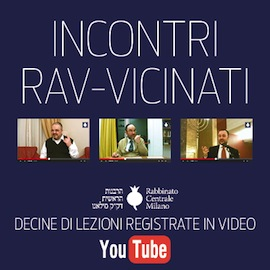 Canale YouTube Rabbinato Milano